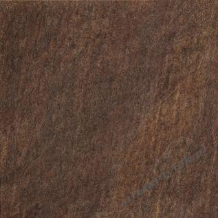 Gres QUARZITE BROWN natura 45x45
